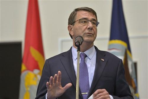 Defense Sec Carter visits AFRICOM